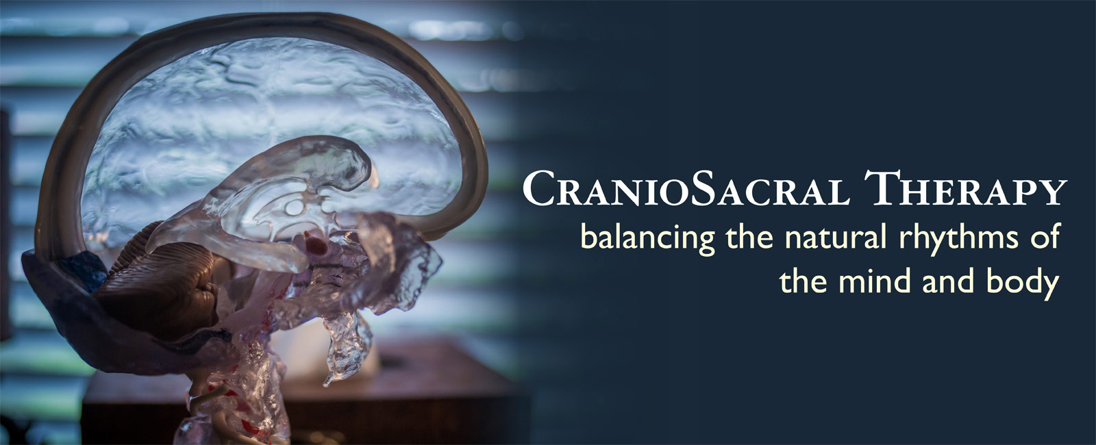CranioSacral Therapy: Balancing the natural rhythms of the mind and body.